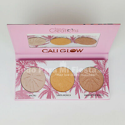 Cali Glow Highlighter Palette Highlighters Beauty Creations