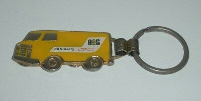 H & S Bakery Delivery Truck Keychain