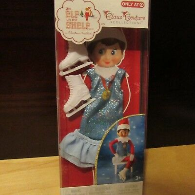 A8 The Elf on the Shelf Claus Couture Clothing Collection Arctic Ice Skater NIP