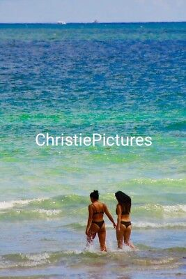 Digital Picture Image Photo Wallpaper JPG. BEACH GIRL Christie Pictures