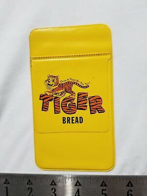 Vintage Ad Tiger Bread Yellow Pocket Pouch Advertising