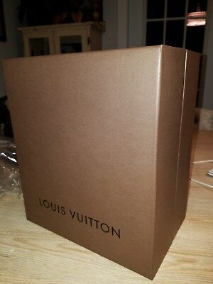 Louis Vuitton Ridgid Box ONLY  12-1/2 x 10-3/4 x 7 inches NEW NEVER USED