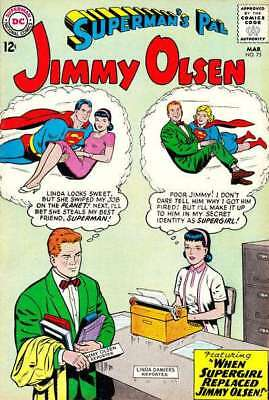 Superman's Pal Jimmy Olsen #72 in Very Fine minus condition. DC comics