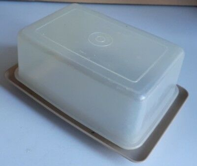Vintage Tupperware Butter/Cheese Dish