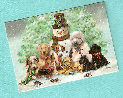 Scottish Yorkshire Terrier Labrador Cocker Spaniel Christmas Cards Box of 20