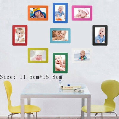 Strong Magnetic Picture Frame Refrigerator Magnet Photoframe DIY Home Decors