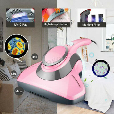 Portable Handheld Anti-Dust Mites Vacuum Cleaner UV Household Bed Mattress Sofa