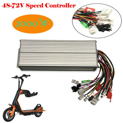 2000W Electric Bicycle E-bike Scooter Brushless DC Motor Speed Controller 48/72V