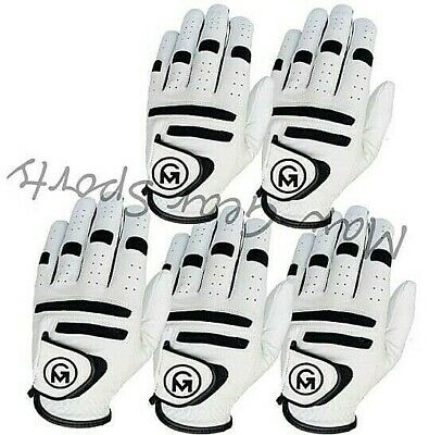 All Weather Mens/Male Golf Gloves FULL CABRITTA LEATHER PACK of 6 OR 3 Left Hand
