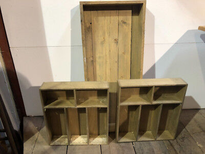 Wooden Retail Display Trays / shelving