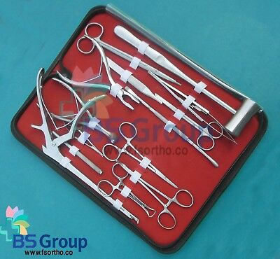 33 Pieces Lacrimal Eye Micro Minor Surgery Ophthalmic  Surgical Instruments