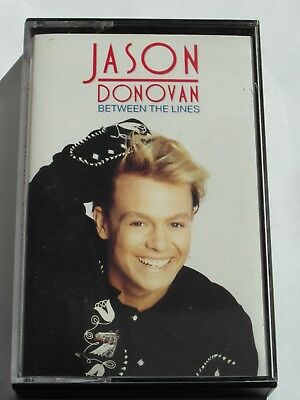 Jason Donovan - Between The Lines (Cassette Tape) Used Very Good