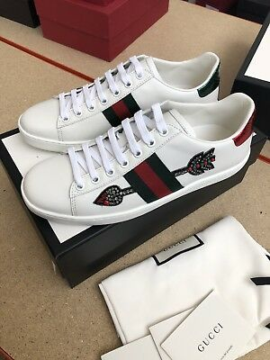 GUCCI ACE ARROW Embroidered Trainers
