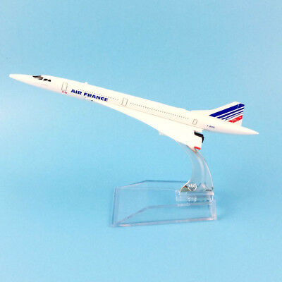 16Cm Air France Concorde Model Plane Aircraft Model Toy Airplane Birthday Gift