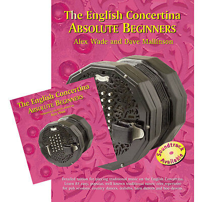 The English Concertina Absolute Beginners Book and CD