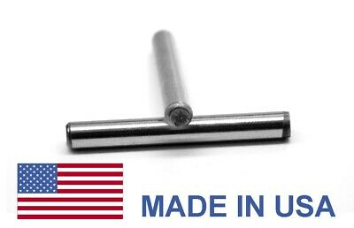 3/8 x 1 1/2 Dowel Pin Hardened & Ground - USA Alloy Steel Bright Finish