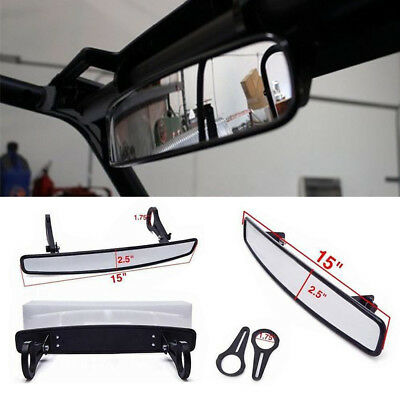 "Polaris RZR800 XP900 XP1000 UTV Wide Rear View Race Mirror with 1.75"" Clamp"