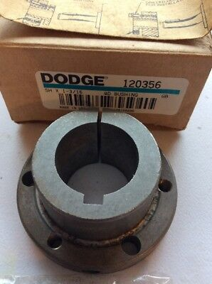 "Dodge 120356 QD Bushing SH X 1-3/16, 1-3/16"" ID   New In Box    FREE SHIPPING"