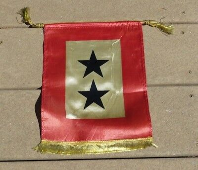 WW2 US ARMY MILITARY 2 Star SON IN THE SERVICE FLAG