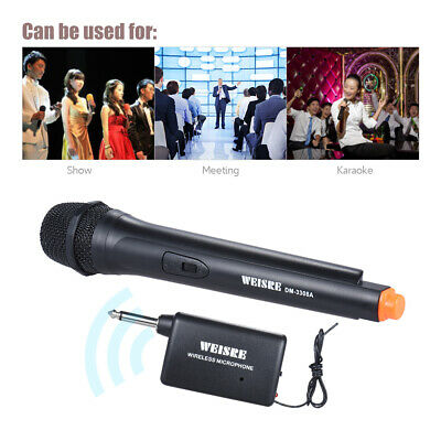 Handheld Wireless Unidirectional Dynamic Microphone Voice Amplifier for R8R1