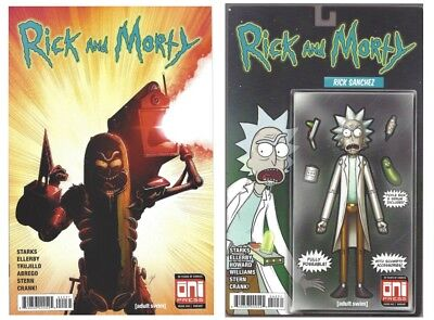 Rick And Morty 42 Mike Vasquez Action Figure 40 Iron Man 282 Homage Variant NM🔥