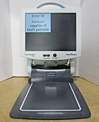 Humanware MyReader 600 Low Vision Aid Document Magnification System Parts/Repair
