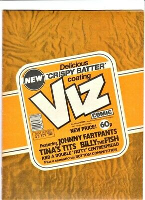 Viz # 17 comic April 1986 magazine issue with centre-page supplement 18+ only