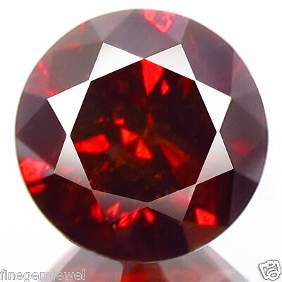 1.30ct HUGE RARE NATURAL SPARKLING BRIGHT RED DIAMOND EARTH MINED REAL DIAMOND!