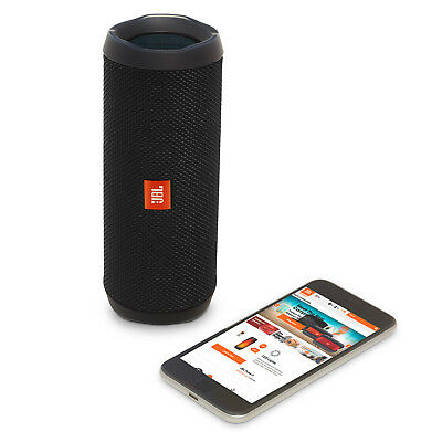 JBL Flip 4 Waterproof Portable BT Speaker Black