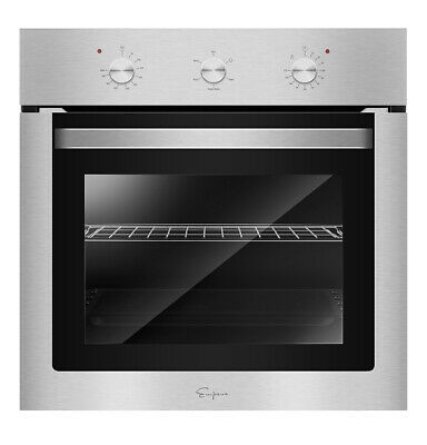 "Empava 24"" Stainless Steel Electric Built-in Convection Single Wall Oven"