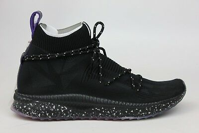 79c465012e2 Puma X Naturel Tsugi Evoknit Sock Black White Purple Red Mens Sneakers  365678-01