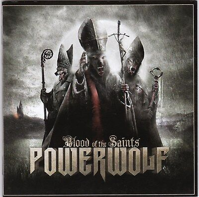 Powerwolf ‎– Blood Of The Saints RARE CD! BRAND NEW! FREE SHIPPING!