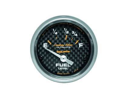 Auto Meter 2-1/16in C/F Fuel Level Gauge 73/10 OHMS