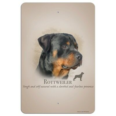 Rottweiler Rottie Dog Breed Home Business Office Sign
