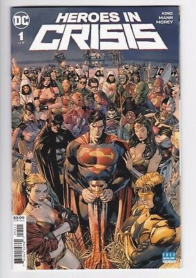 Heroes in Crisis #1  Dc Comic Book  2018  Limited Series