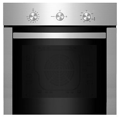 """Empava 24"""" Built-in NG/LPG Convertible Broil/Rotisserie Gas Single Wall Oven"""