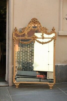 Mirror Wooden Golden, Period End '800 Beginning '900 / Mirror Golden
