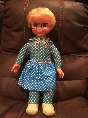 Mattel Original 1967 Mrs Beasley Talking Doll Cleaned/Repaired to Talk-Adorable