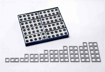 Numicon: Box of 80 Numicon Shapes (Grey) 9780198487289 (Toy, 2001)