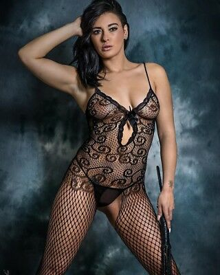 Sexy Body Stocking SEDUCTIVE Bodysuit Tights Catsuit Lingerie Fishnet 5046