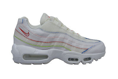 dbc817079c5 Womens Nike Air Max 95 SE  RARE  - AQ4138100 - White Rainbow Trainers