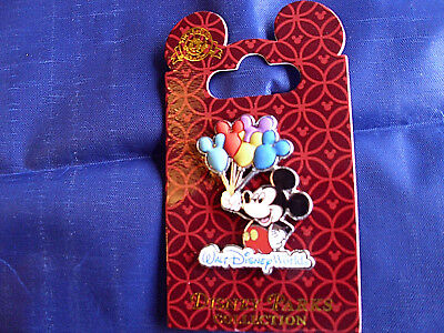 Disney * WDW - MICKEY & BALLOONS * New on Card Character Trading Pin