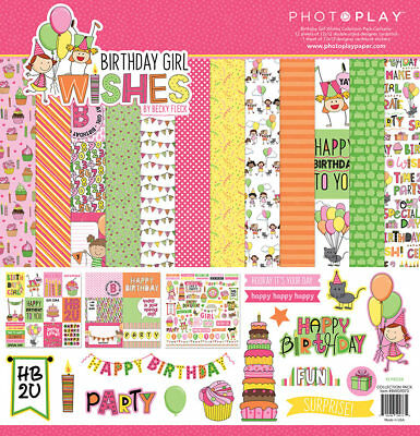 HAPPY BIRTHDAY 2 U 12X12 Scrapbooking Paper Pad 36 Sheets K/&Company 30-572232