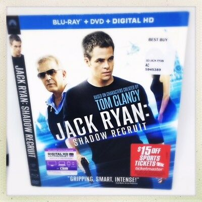 Jack Ryan: Shadow Recruit (SLIPCOVER ONLY)(NO BLU-RAY/4K MOVIE DISC OR CASE)