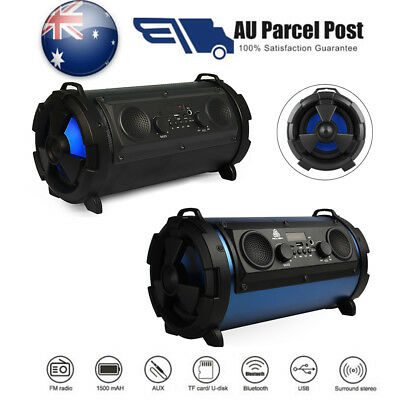 Heavy Sound 3D Surround Stereo Extra Bass Bluetooth Wireless HiFi Speaker Party