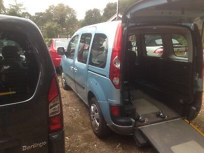 2012 Renault Kangoo Wav 1.6 16V Manual Wheelchair Accessible 33000 Miles