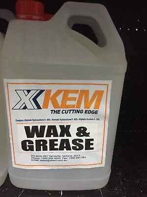 Wax And Grease Remover 4L (Csvwg4)