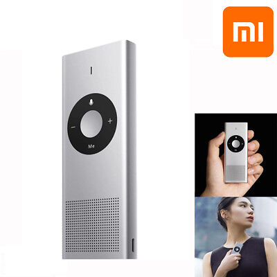 Xiaomi AI Portable 14 Smart Language Instant Voice Translator for Speech Travel