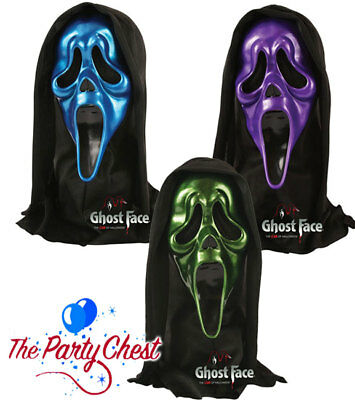 OFFICIAL SCREAM SKELE FACE DEVIL GHOST FACE MASK Halloween Horror Collectibles