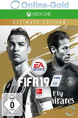 FIFA 19 Ultimate Edition - Xbox One Download Code - Xbox One Version Online Code